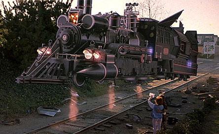 Resultado de imagen para imagenes del tren de volver al futuro